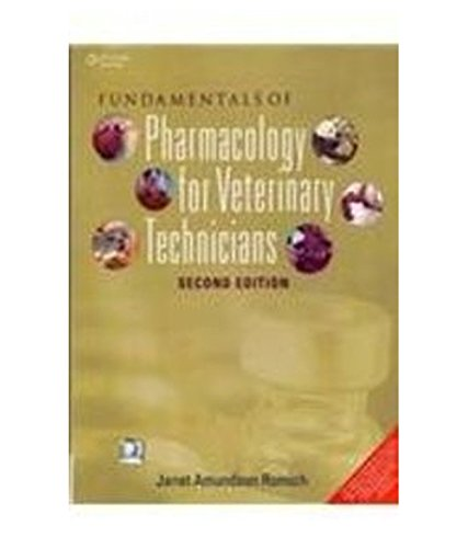 9788131526668: Fundamentals Of Pharmacology For Veterinary Technicians