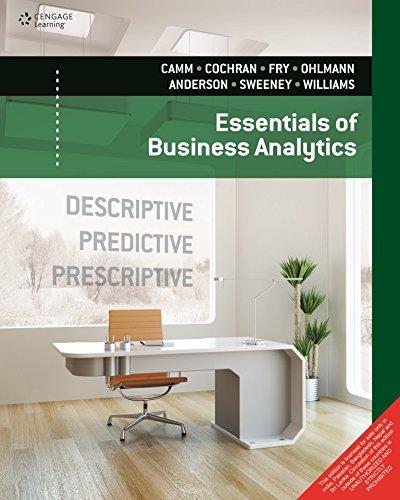 9788131527658: Essentials of Business Analytics