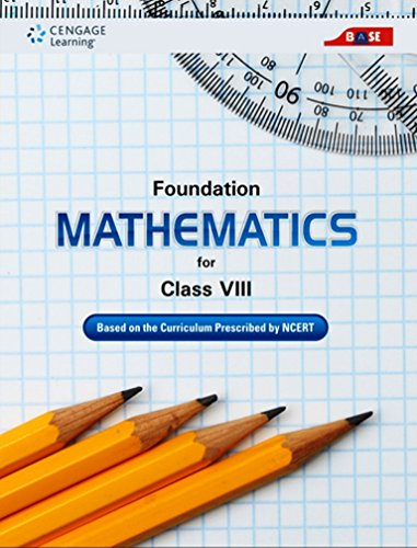 Foundation Mathematics for Class VIII: Cengage Learning India