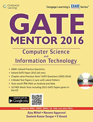 GATE MENTOR 2016: Computer Science and Information Technology: Dr. Ajay Mittal,Dr. Naveen Aggarwal,...
