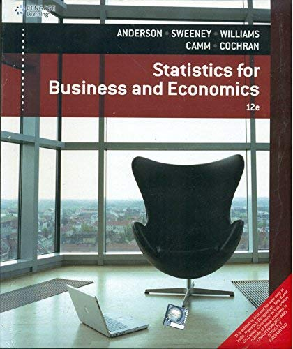 9788131528136: Statistics for Business & Economics (12th Ed.)