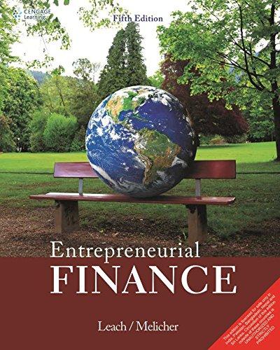 9788131528235: Entrepreneurial Finance 5Th Edition