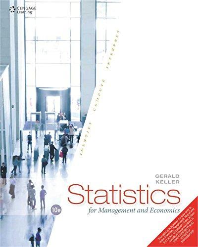 9788131528426: STATISTICS FOR MANAGEMENT AND ECONOM