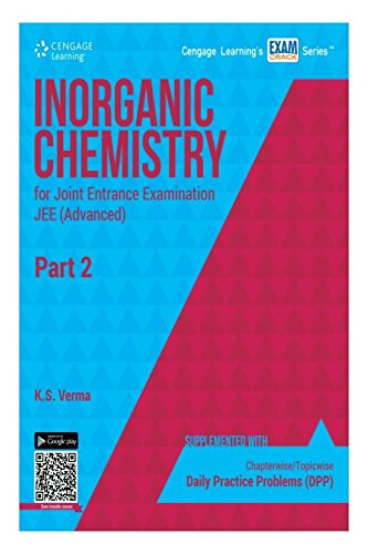 Inorganic Chemistry for Joint Entrance Examination JEE: K.S. Verma