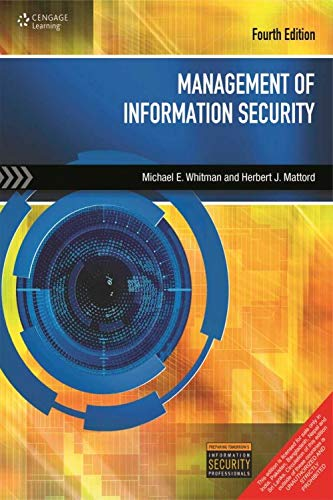 9788131531815: Management of Information security