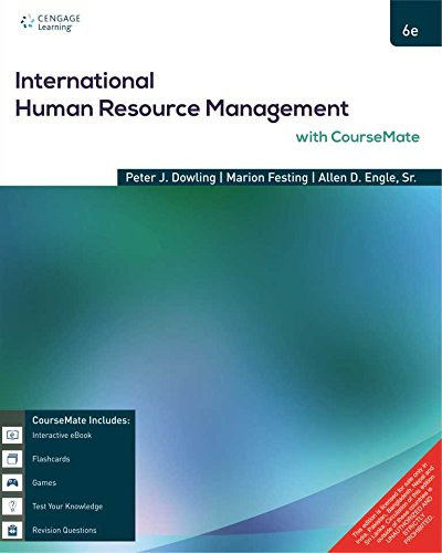 International Human Resource Management with CourseMate (Sixth: Peter J. Dowling,Marion