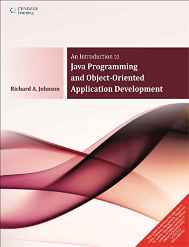 Introduction To Java Programming And Object-Oriented Application: Richard Johnson