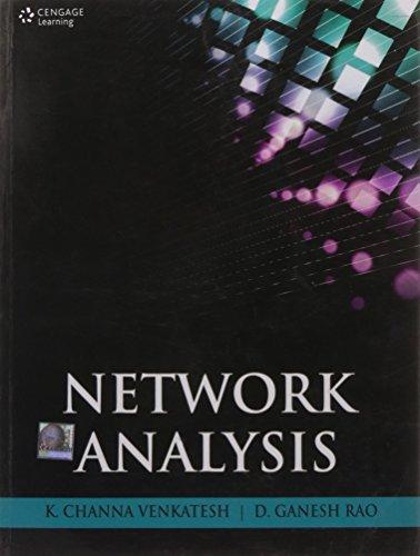 Network Analysis: K. Channa Venkatesh