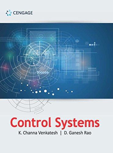 Control Systems: K. Channa Venkatesh