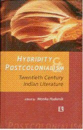 Hybridity and Postcolonialism : Twentieth Century Indian: Monika Fludernik