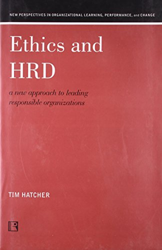 9788131601433: Ethics and HRD