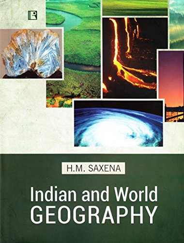 9788131607435: Indian and World Geography: Physical, Social and Economic