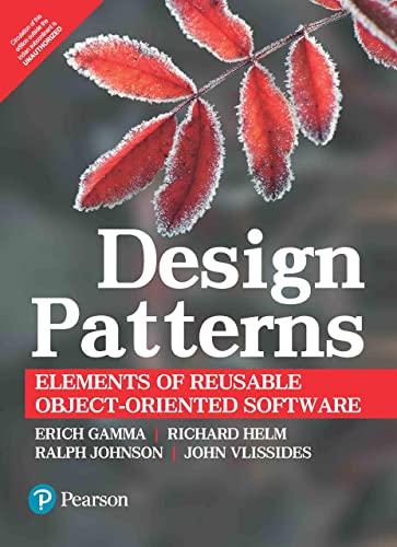 9788131700075: Design patterns:elements of reusable object-oriented software (Livre en allemand)