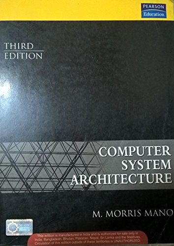 Computer System Architecture (Third Edition): M. Morris Mano