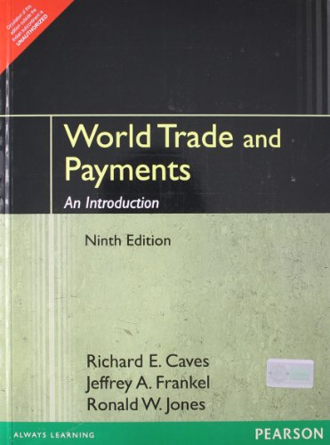 WORLD TRADE PAYMENTS: CAVES