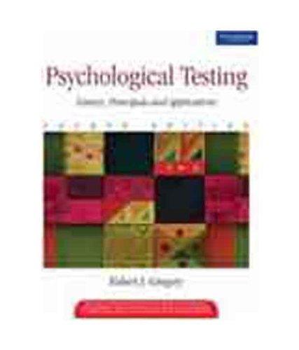 9788131701799: Psychological Testing (s)