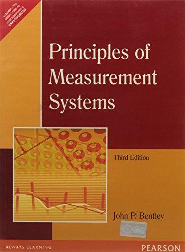 Principles Of Measurement Systems John P Bentley Pdf