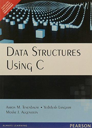 9788131702291: Data Structures Using C