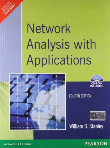 9788131703182: Network Analysis with Applications