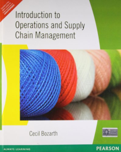 9788131703205: Introduction To Operations And Supply Chain Management