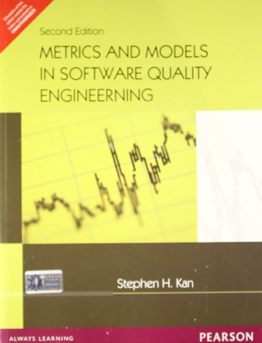 9788131703243: Metrics and Models in Software Quality Engineering