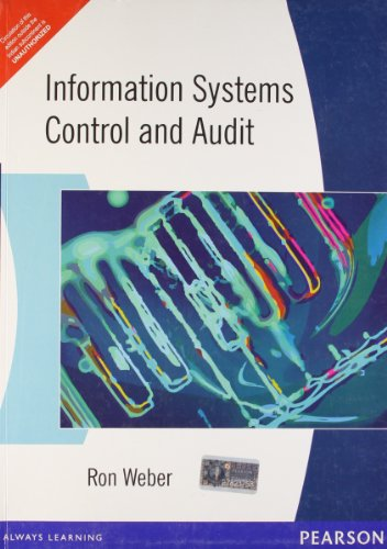 Information Systems: Control And Audit: Ron Weber