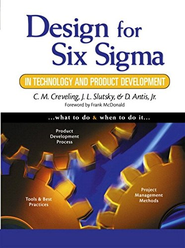9788131704844: Design for Six Sigma in Technology and Product Development