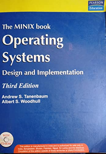 9788131705148: Operating Systems: Design and Implementation
