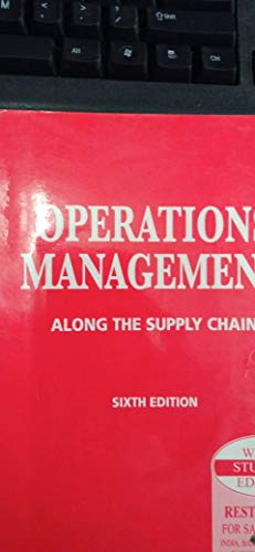 9788131705193: Operations Management, 4/e (with CD)