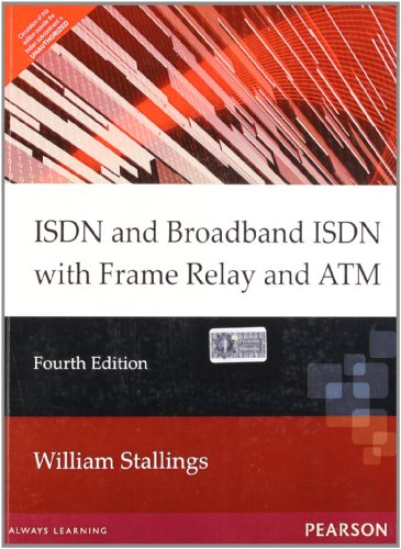 9788131705636: ISDN & Broadband ISDN with Frame Relay & ATM, 4e
