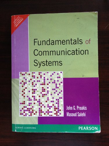 FUNDAMENTALS OF COMMUNICATION SYSTEMS: PROAKIS