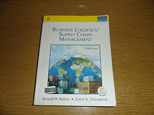 9788131705841: Business Logistics/Supply Chain Management, 5/e (With CD)