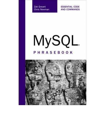 9788131705902: MySQL Phrasebook