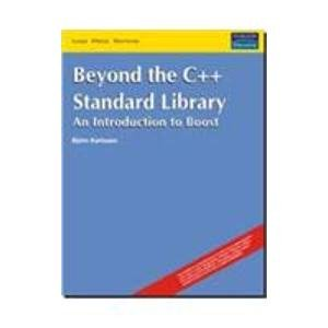 9788131706817: Beyond the C++ Standard Library: An Introduction to Boost (Livre en allemand)
