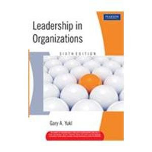 9788131707012: Leadership in Organizations, 6/e (New Edition)