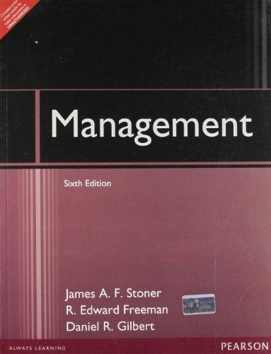 Management 6Th Edn: Stoner,J.A.F.