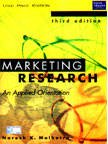 Marketing Research: An Applied Orientation (Livre en: David Birks, Naresh