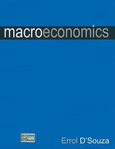Macroeconomics: Errol D?Souza