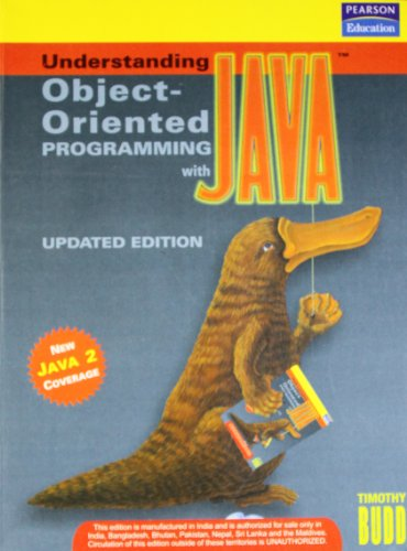 9788131708354: Understanding Object Oriented Programming with Java