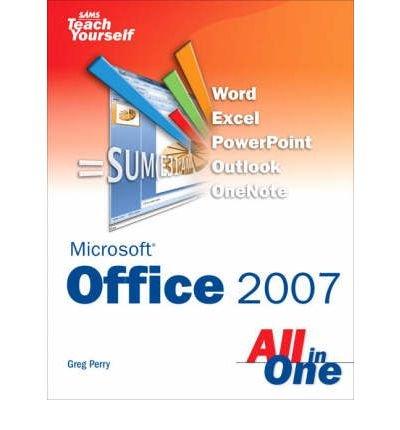 9788131708934: MICROSOFT OFFICE 2007: SAMS TEACH YOURSELF