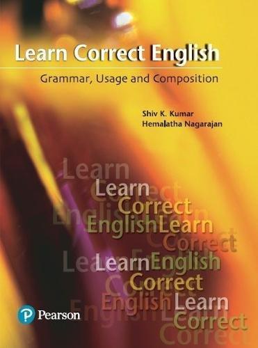 Learn Correct English: Grammar, Composition and Usage: Nagarajan, V. Hemalatha;