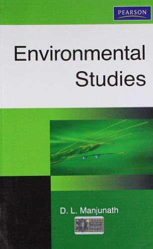 Environmental Studies: D.L. Manjunath