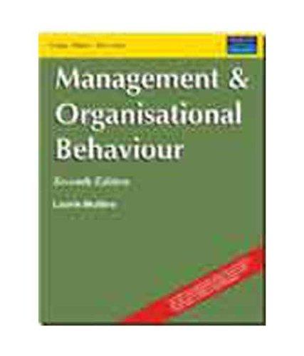 9788131709276: MANAGEMENT & ORGANIZATIONAL BEHAVIOUR
