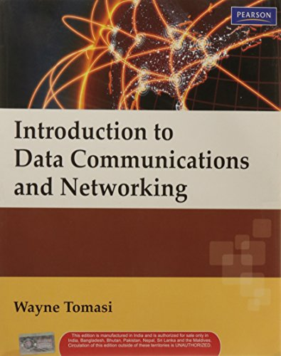 Introduction to Data Communication and Networking: Wayne Tomasi