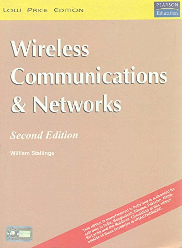 9788131709733: Wireless Communications and Networks, 2nd ed.