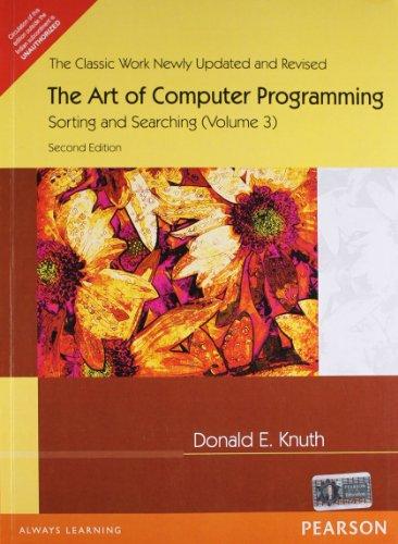9788131709832: Art Of Computer Programming Volume 3