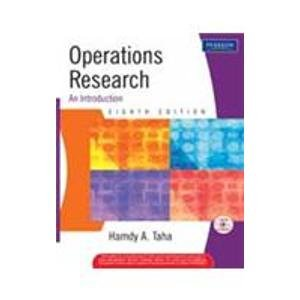9788131711040: Operations Research: An Introduction, 8/e (with CD)