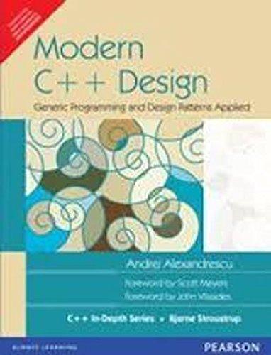 9788131711156: Modern C++ Design: Generic Programming and Design Patterns Applied (Livre en allemand)