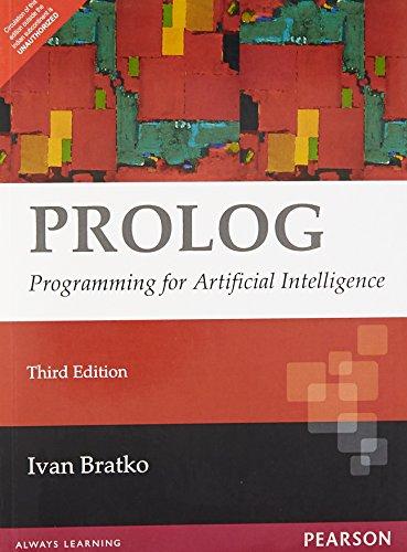 9788131711347: Prolog : Programming for Artificial Intelligence, 3/e