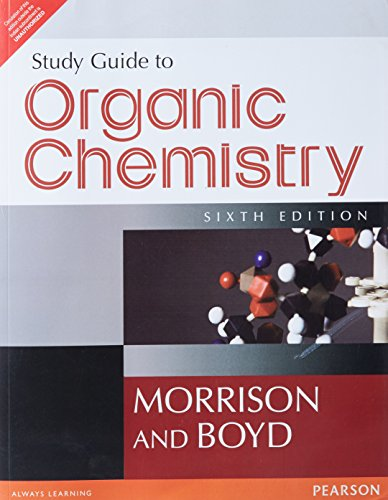 9788131711514: Study Guide to Organic Chemistry, 6/e